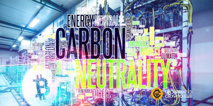 Bitcoin Miner Says 90% Carbon Neutral