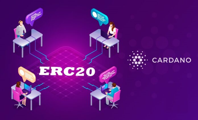 Cardano Released A New 'Converter' That Allows Users To Bring ERC-20 Tokens Issued On Ethereum To The Cardano Blockchain