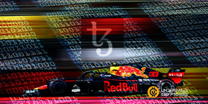 Red Bull Racing Honda Names Tezos as Its Official Blockchain Partner