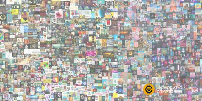 Popular digital artist Beeple launches an NFT platform
