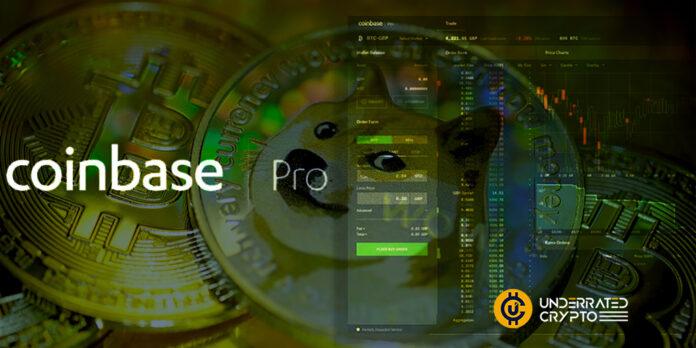 Coinbase Pro Has Listed Dogecoin