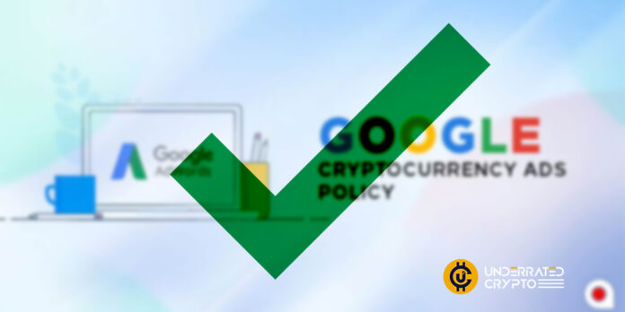 Google To Reverse Crypto Exchange and Wallet Advertisement Ban