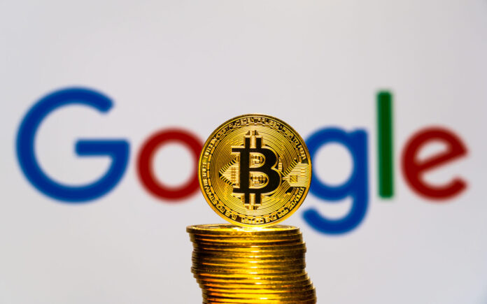 Cryptocurrency companies are allowed to advertise on Google